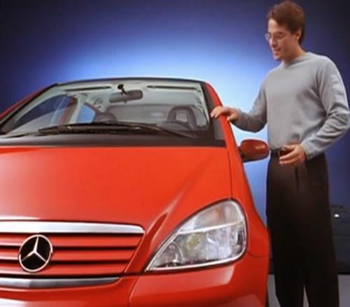 Propaganda de lançamento do Classe A: o monovolume compacto da Mercedes-Bens. Produzido e veiculado em 1999.
