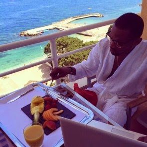 Photos: D'banj Enjoying his Vacation In Monaco