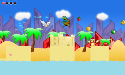 Turtle Tale 3DS Screenshot 1