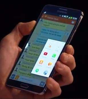 Samsung Galaxy Note 3 & Galaxy GEAR Smart Watch Revealed