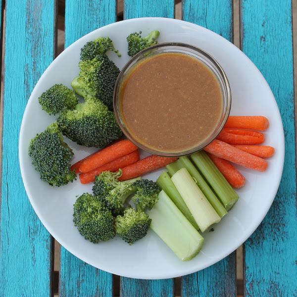 Thai Peanut Sauce and Veggie Dip Recipe!