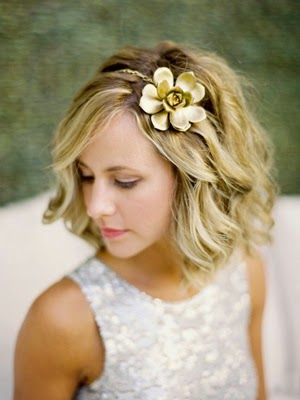 wedding hair flowers for short hairstyleshttp