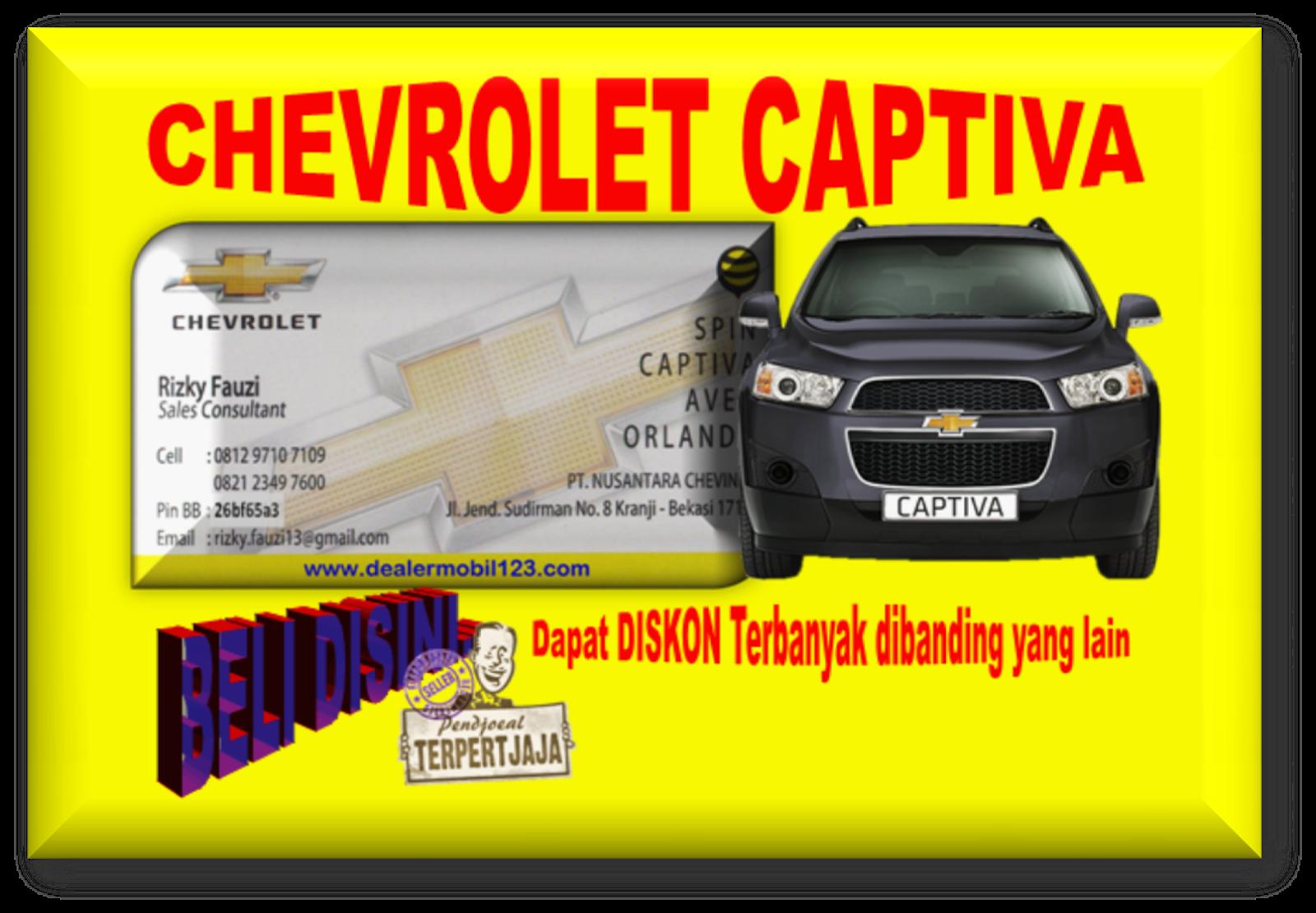 Chevrolet Captiva Diskon Terbanyak 0812 9710 7109
