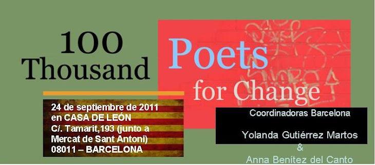 """Concentración Mundial """"100Mil Poetas por el cambio y la paz"""""""