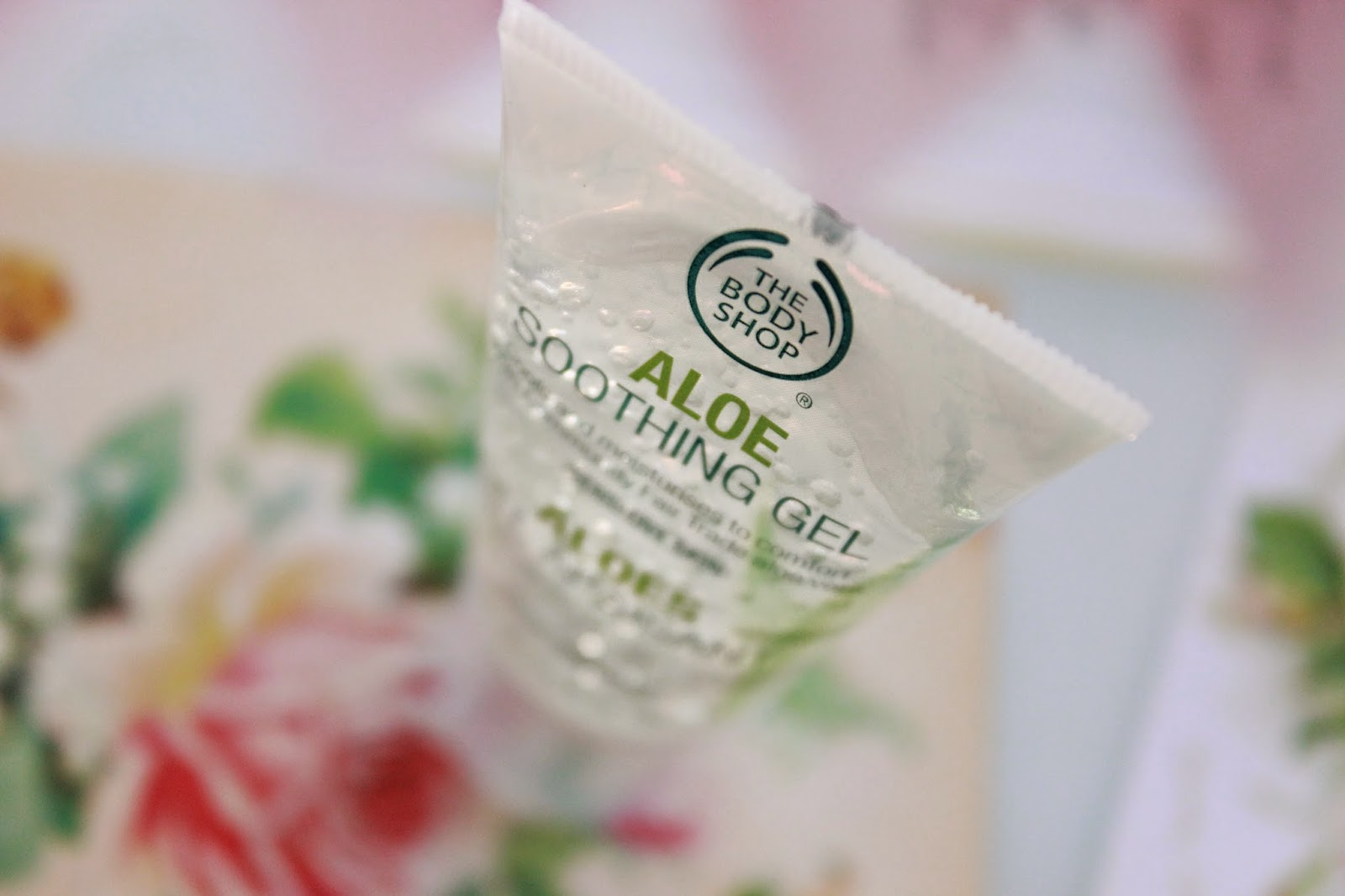 review ervaring the body shop aloe soothing gel