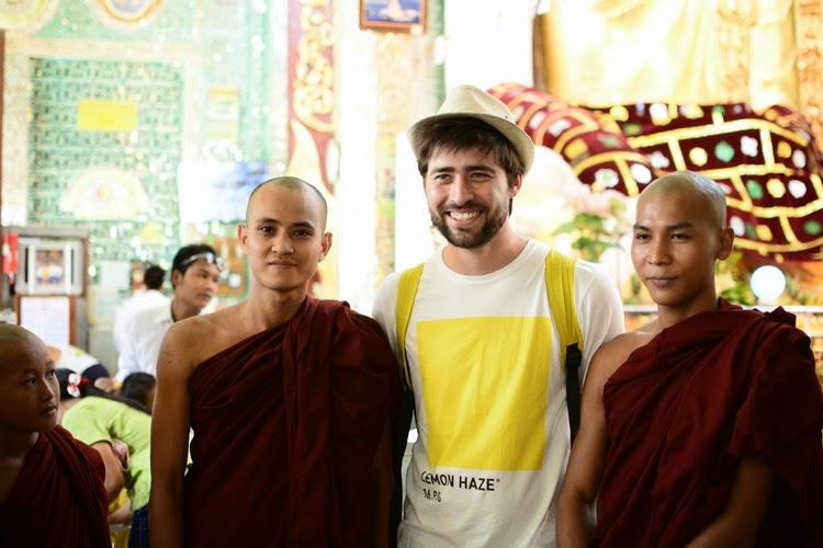 Birmanie, myanmar, voyage, photos de voyage, mandalay, pagode, sagaing, portrait