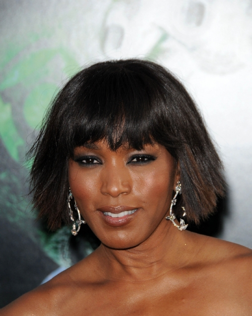 Angela Bassett Celebrity Hairstyles