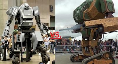 Duel Robot Jepang Amerika