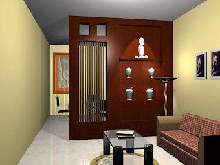 partisi ruangan dalam sebuah rumah minimalis kumpulan