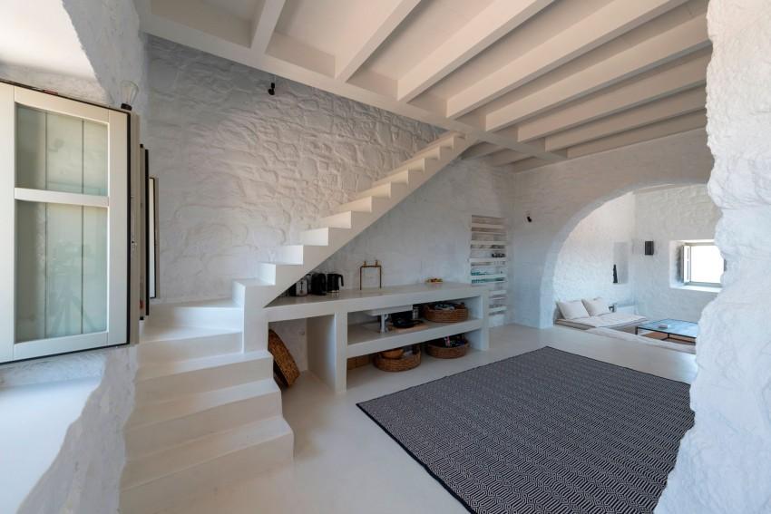 Una casa in un castello in grecia for Case in stile castello