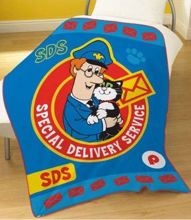 New Postman Pat SDS Fleece Blanket