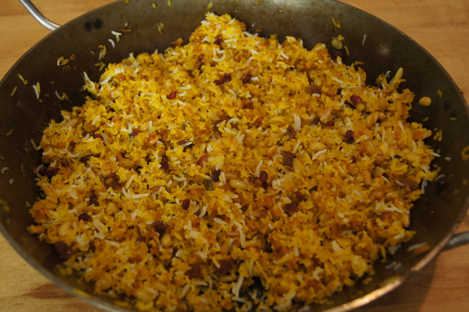 ... of the Iranian/Persian fried rice dish also known as Shirin Polow