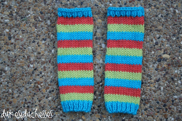 knit baby legwarmers