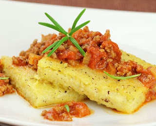 Baked Polenta with Tomato Sauce - The Best Recipes