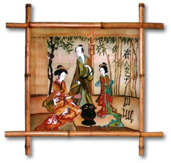 Японские картинки своими руками