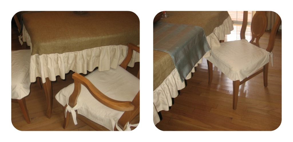 the delectable home 31 days 13 dining table chair covers