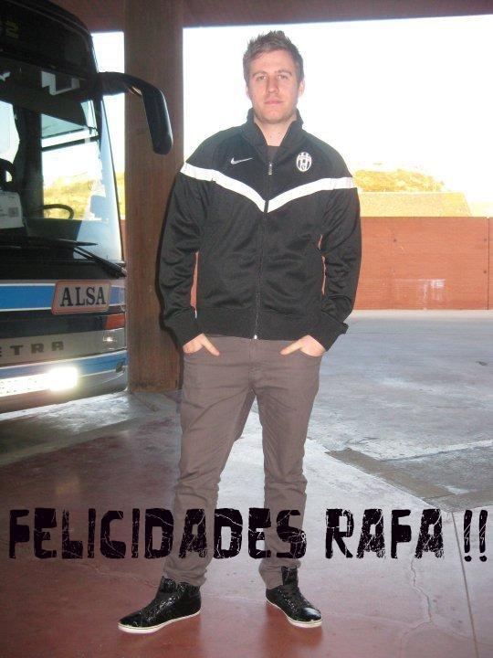 Felicidades Rafa2045! RAFA