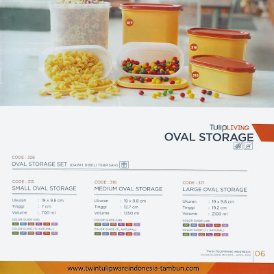 OVAL STORAGE SET - KATALOG 2013 - 2014