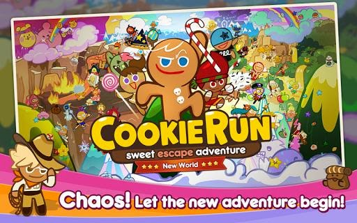 LINE Cookie Run Download 2015