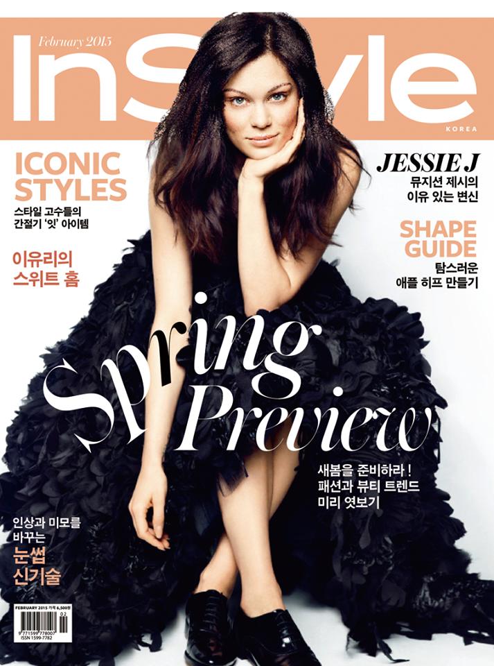 Jessie J - InStyle, Korea, February 2015
