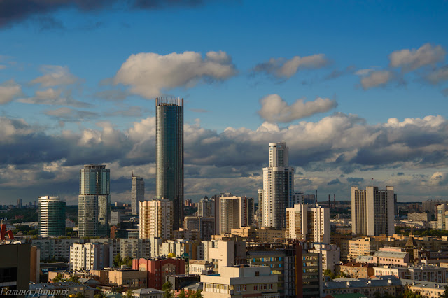 Путешествия: О жизни: Екатеринбург сити фото