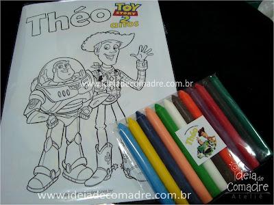 lembrancinha infantil toy story