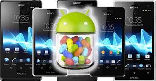 Daftar Perangkat Xperia Yang mendapatkan Update Android 4.1 Jelly Bean