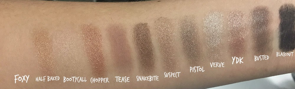 Canadian Beauty Blogger Product Reviews Swatches Sephora Smoky Eye Urban Decay Naked Palette