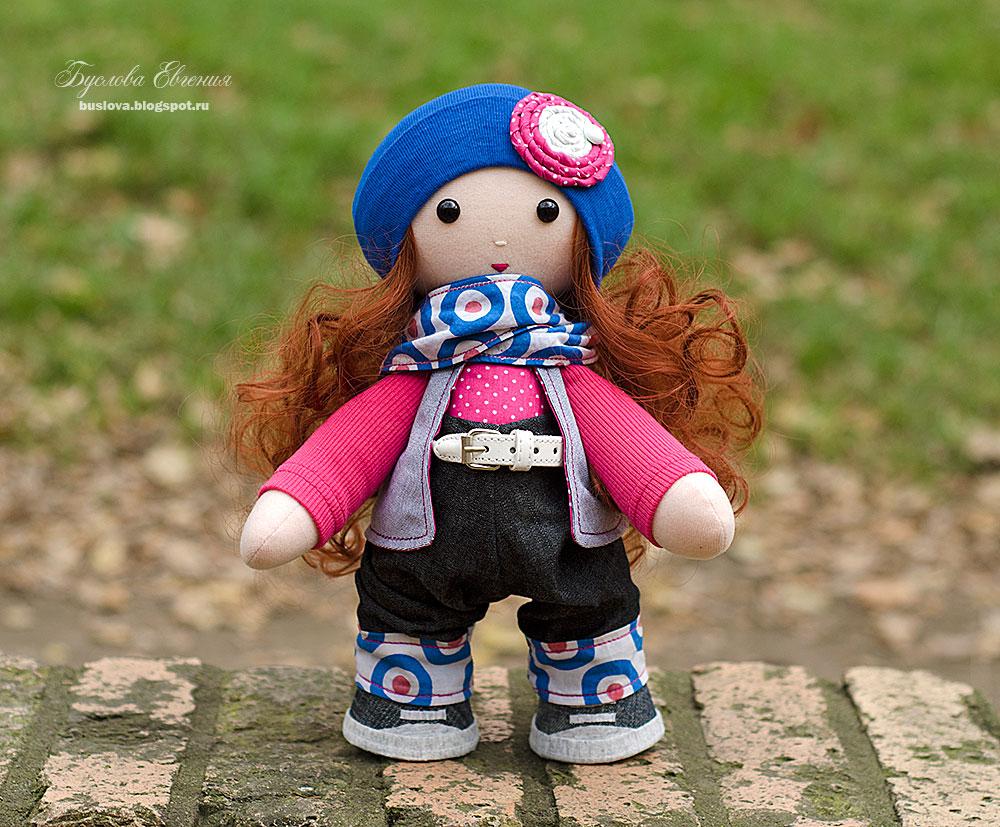 кукла, текстильная кукла, авторская кукла, кукла девочка, игрушки