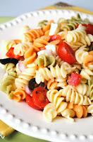 health master recipes, health, master, recipes, Mayo-less Pasta Salad,
