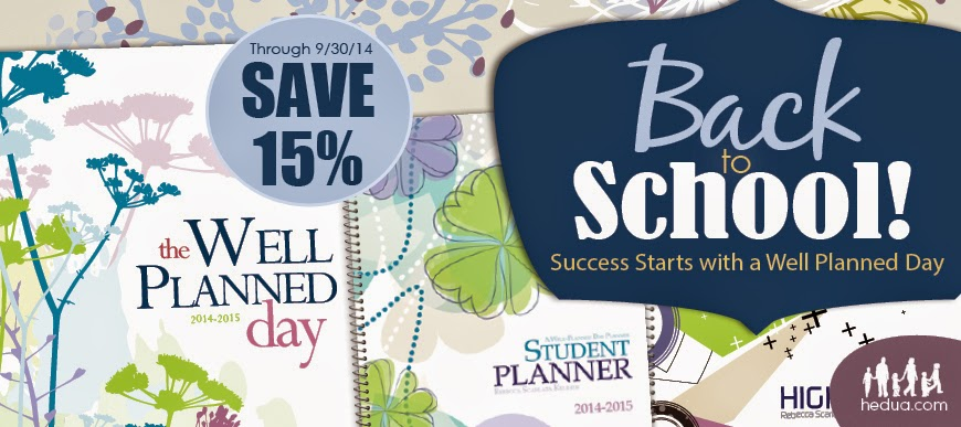 Try a Free Issue and 15% off Planners!