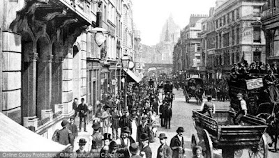 Fleet Street, London, 1890