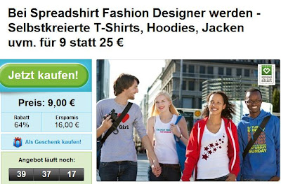 Spreadshirt-Gutschein groupon