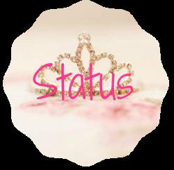 ♥ Status do Blog