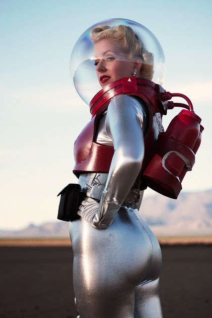 Girl in Space Suit Wallpaper  Pics about space