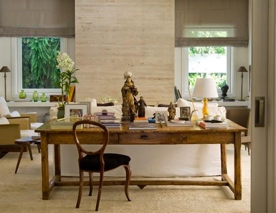 Imagem VZ Home Design -> Decoração Aparador Atras Do Sofa