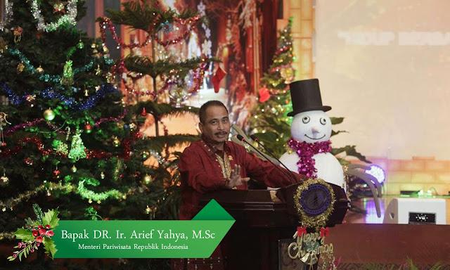 Perayaan Natal 2015 bersama Kementerian Pariwisata (photo by. Humas Kemenpar)