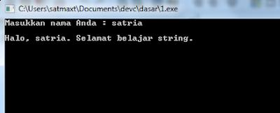 Studi Kasus Input Output Bahasa C