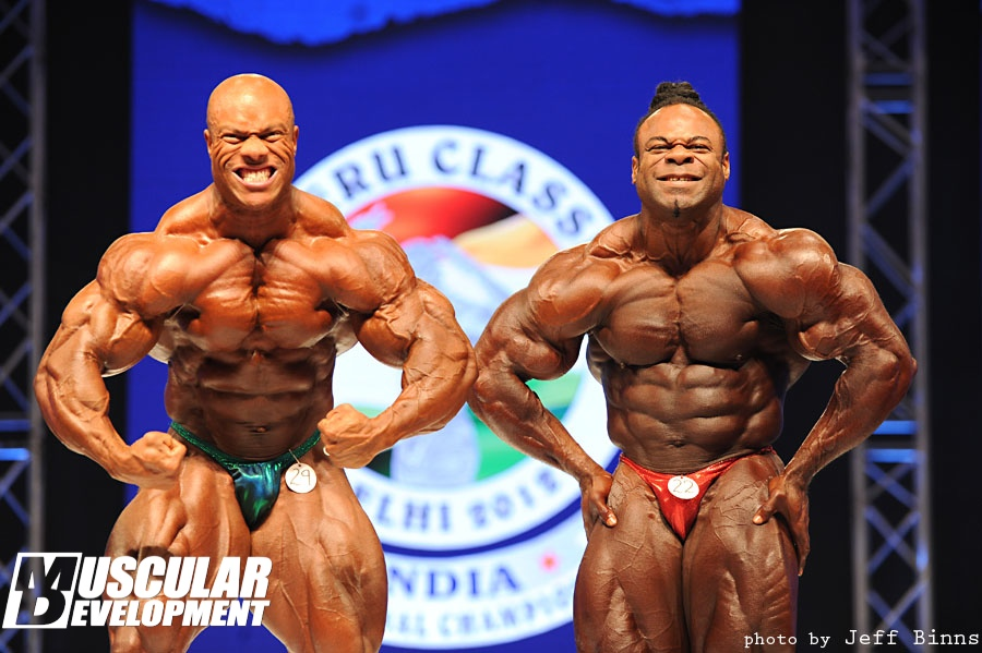 Kai Greene vs Phil Heath