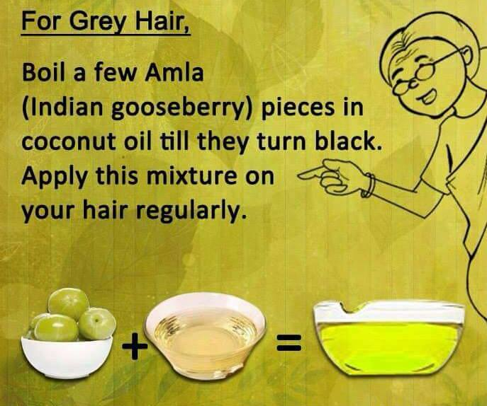 Grey Hair home remedy