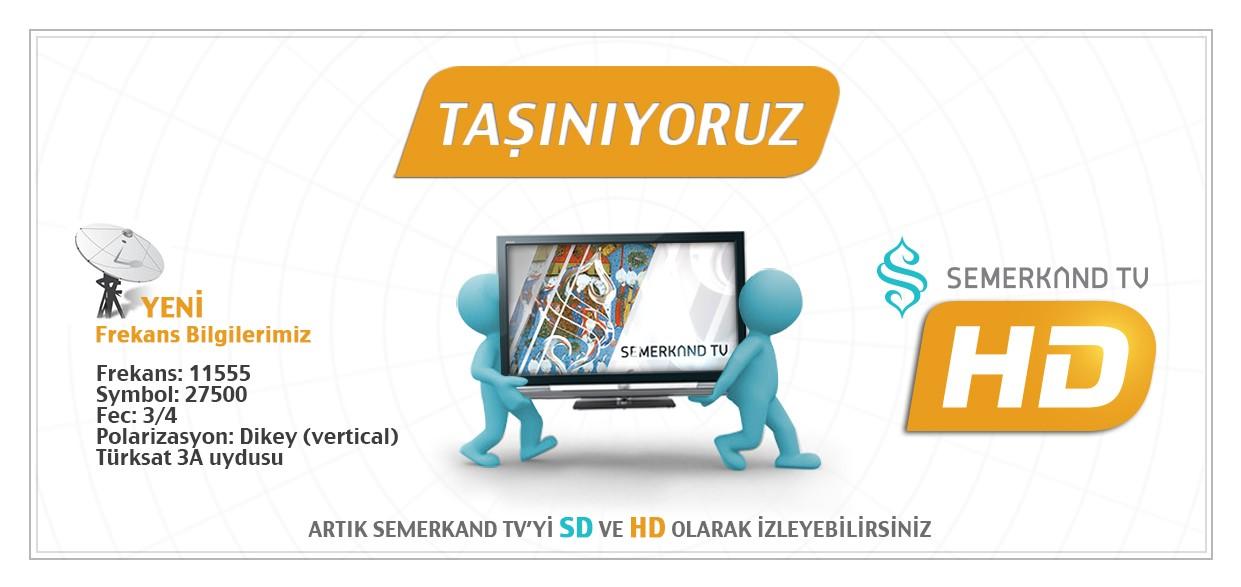 Semerkand TV HD Frekans Bilgileri