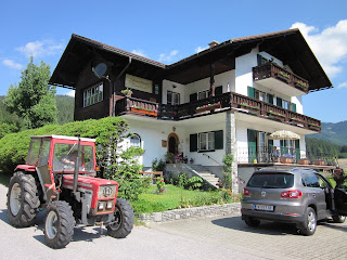 Out residence for our stay in Gosau, Austria - wonderful accommodations and hospitality