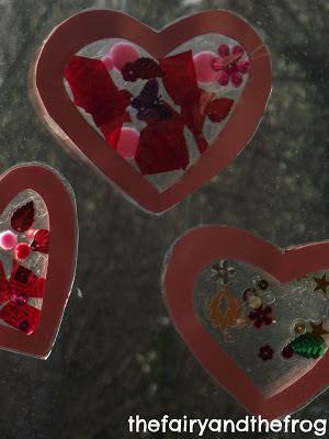 kids heart craft