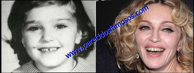Madonna antes y después