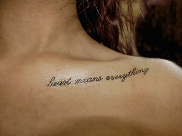 kaji tattoo small: tattoo quotes about life