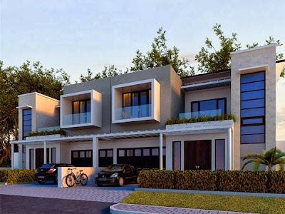 Desain Rumah Minimalis Perkotaan 2