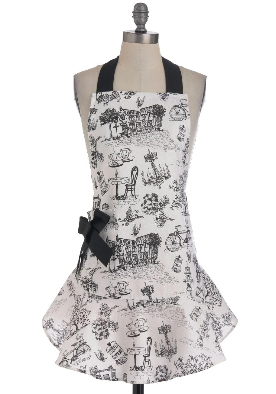 Masterchef apron (white) official merchandise - Modcloth Tr S Charmant Non