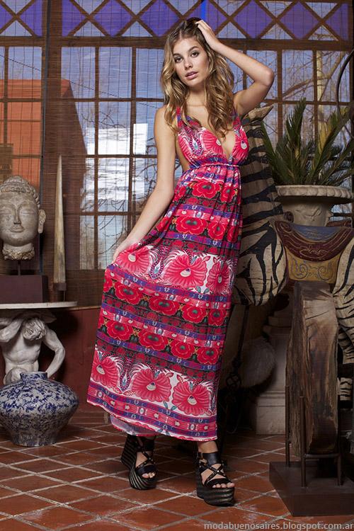 Ossira primavera verano 2015 vestidos.
