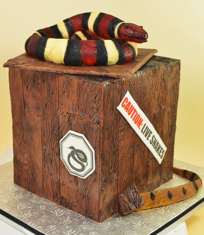 Cup A Dee Cakes Blog Kabens Fifth Birthday Snake Edition - Snake birthday cake