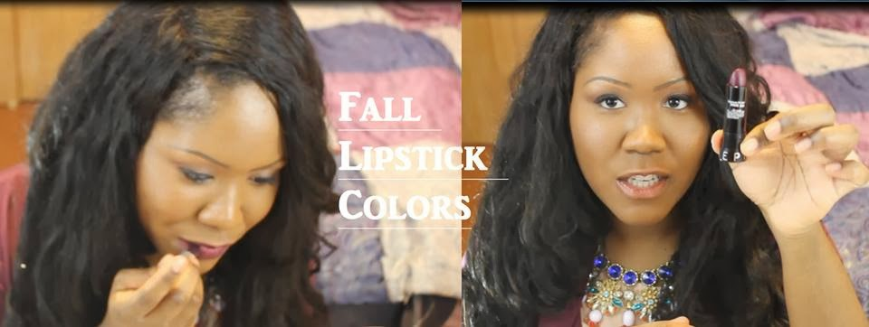 Lipstick Colors for the Fall / Winter Season
